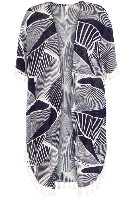 Cheap Abstract Print Beach Cover Up - Only £15!