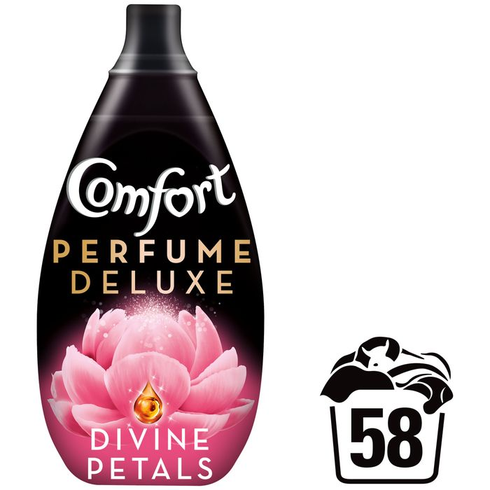Comfort Perfume Divine Petals Fabric Conditioner 58W 870ml