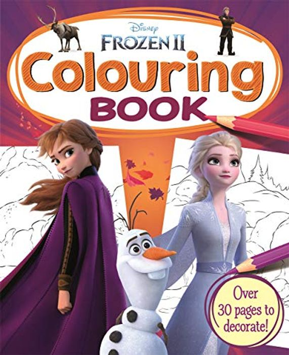 Disney Frozen 2 Colouring Book On Sale From £3.99 to £1.5