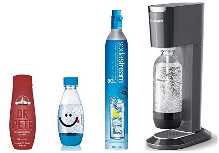 CHEAP! SodaStream Genesis Sparkling Water Maker Includes Extra Water Bottle