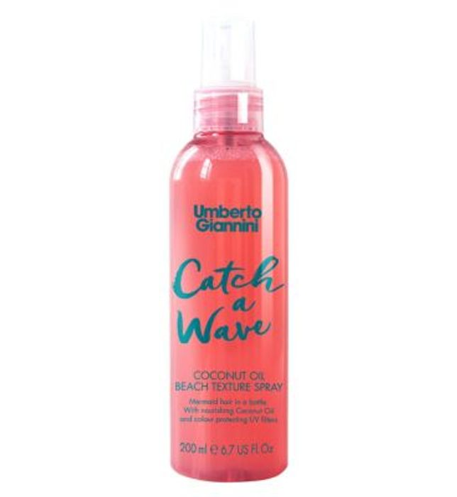Umberto Giannini Catch a Wave Coconut Oil Beach Texture Spray 200ml