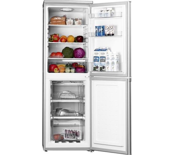 *SAVE £70* LOGIK 50/50 Fridge Freezer - Silver