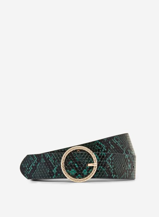 Green Engraved Circle Belt on Sale From £5 to £1