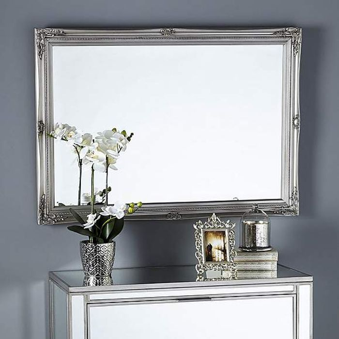Swept Bevelled Mirror