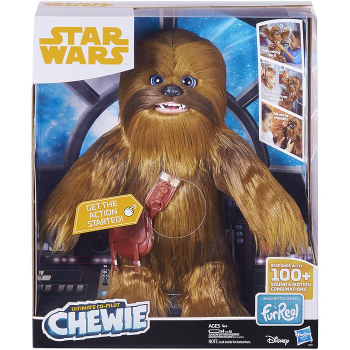 Cheap Hasbro Furreal Friends Star Wars Chewbacca, Only £59.99!