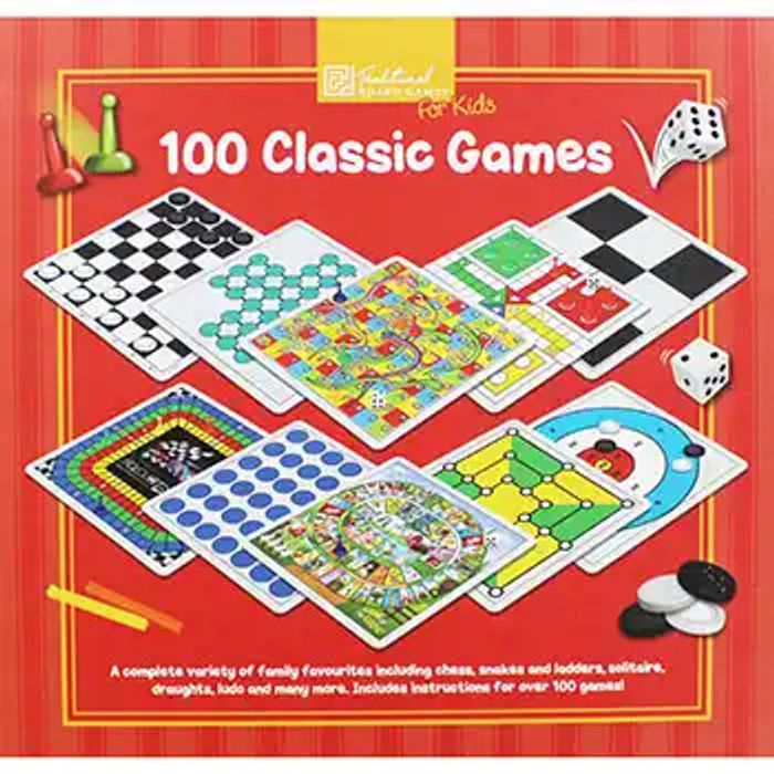 Family Board Game Night! 100 Classic Games for £3.50
