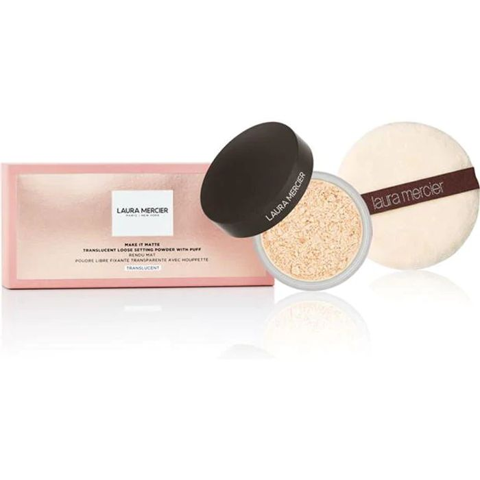 Best Price! LAURA MERCIER Make It Matte Powder & Puff