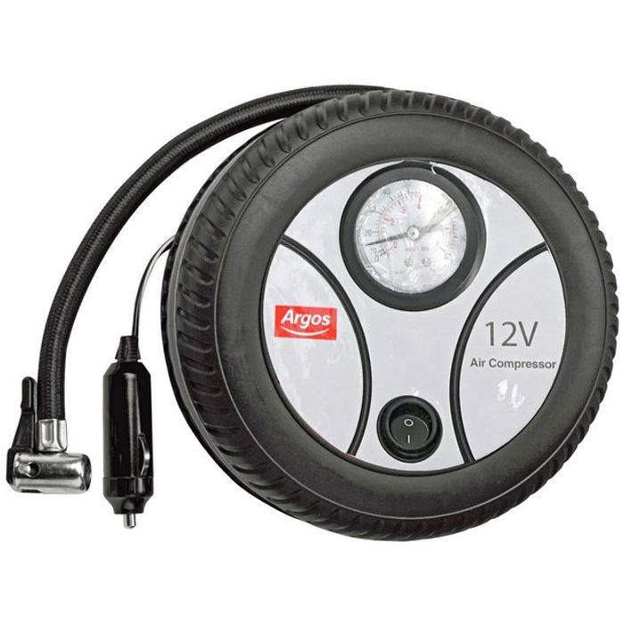 Simple Value Analogue Tyre Inflator 12V - HALF PRICE!