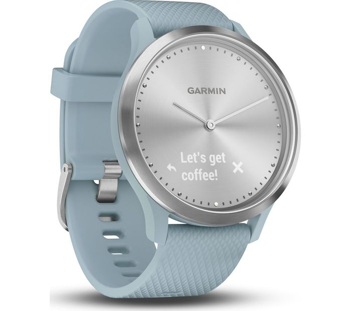 *SAVE £34* GARMIN VIVOMOVE HR Sport Hybrid Smartwatch Small/Medium