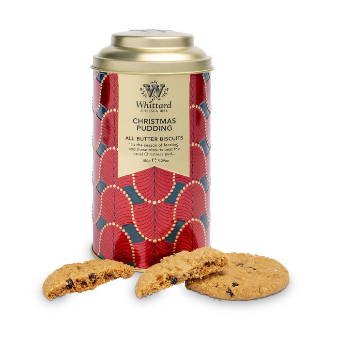 50% Off Whittards Christmas Pudding Biscuits