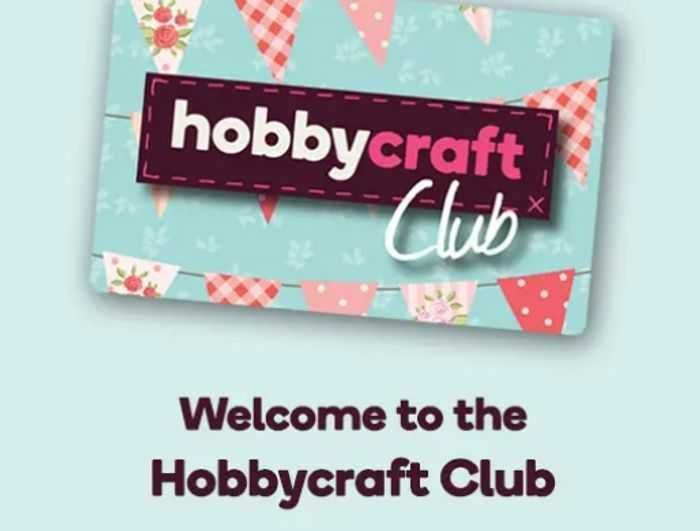 £5 Gift Voucher on Your Birthday When You Sign up to Hobbycraft Club