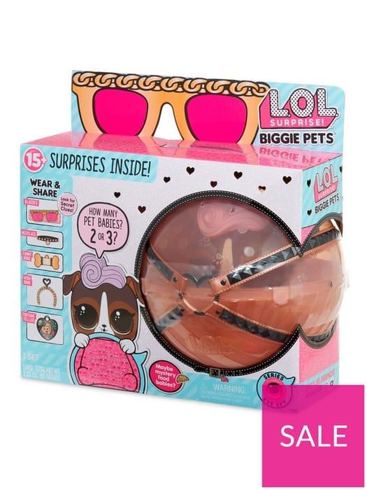 *SAVE £17* L.O.L Surprise! Biggie Pet - D.J. K9