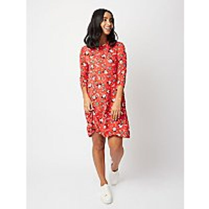 Disney Mickey and Minnie Mouse Christmas Dress On Sale From £6 to £2