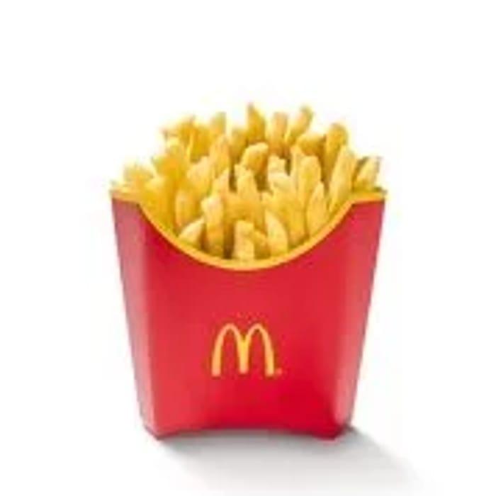 Fri 10th FREE Reg Fries via App