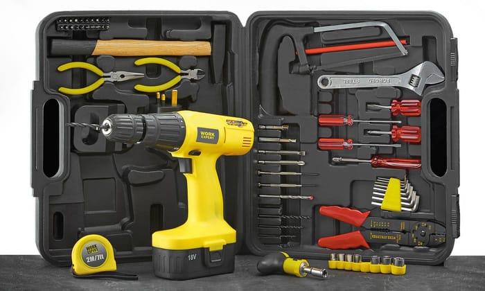 Work Expert 18V Cordless Work Expert Set