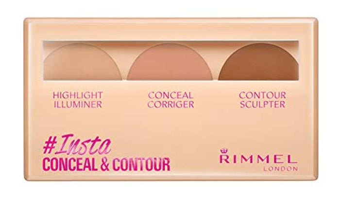 Rimmel London Conceal & Contour Palette, Medium