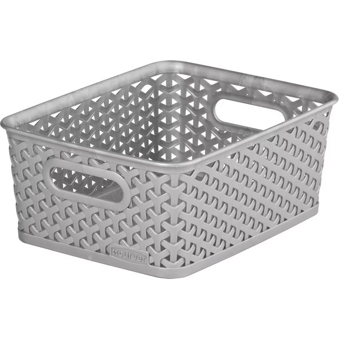 Cheap Curver Grey Basket at Wilko Only £1.5!