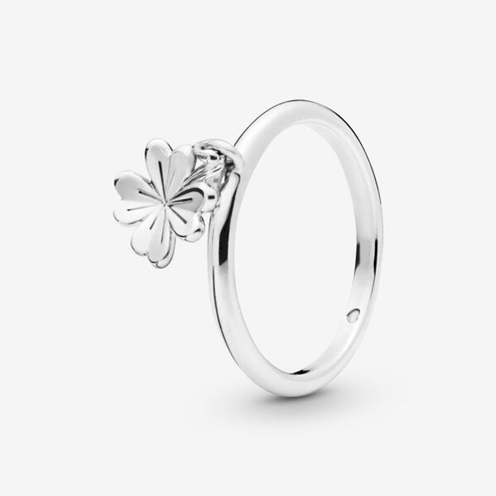 Pandora Four Leaf Clover Ring
