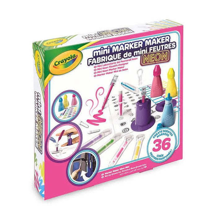 Cheap Crayola Mini Marker Maker - Neon, reduced by £12!