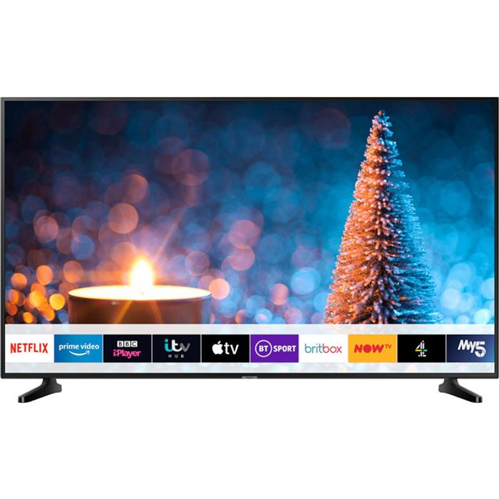 """*SAVE £120* Samsung 50"""" Smart 4K Ultra HD TV with HDR10+ and Apple TV"""