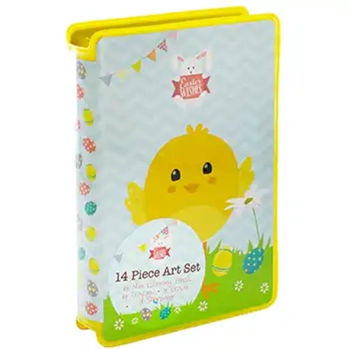 Cheap Easter 14 Piece Art Set, Only £1!