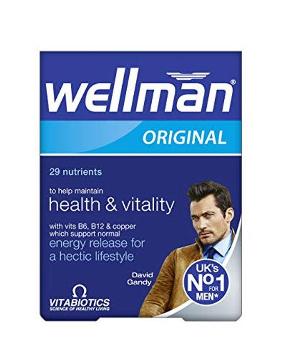3 X 30 Tablets of Wellman Vitabiotics Original at Amazon
