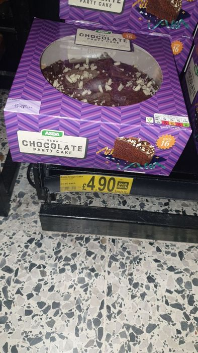 Cheap Mega Chocolate Party Cake at ASDA Only £4.9!