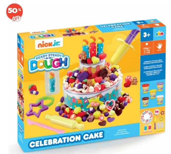 Nick Jr. Ready Steady Dough Celebration Cake HALF PRICE