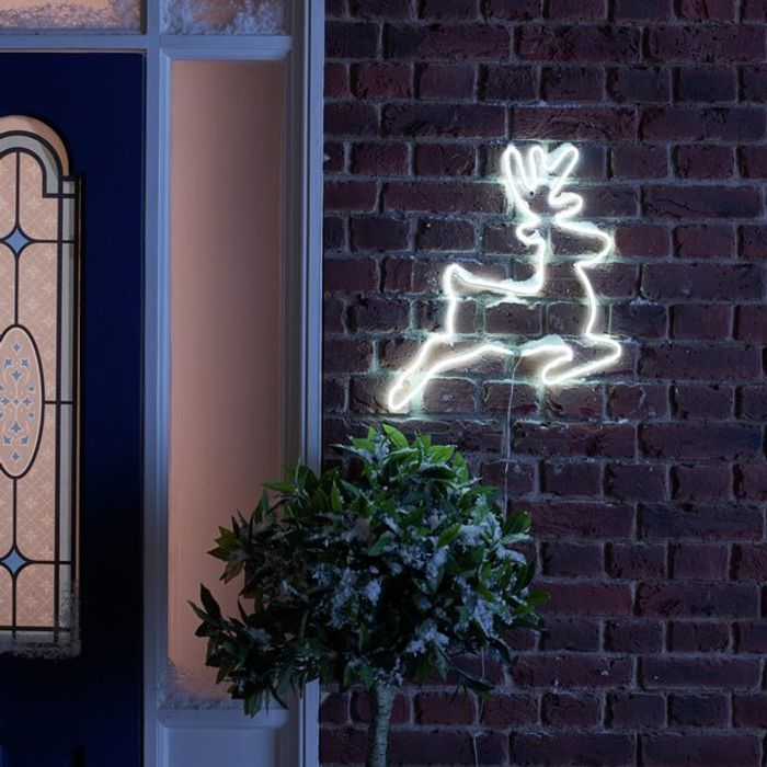Argos Home Neon Large Light up Reindeer