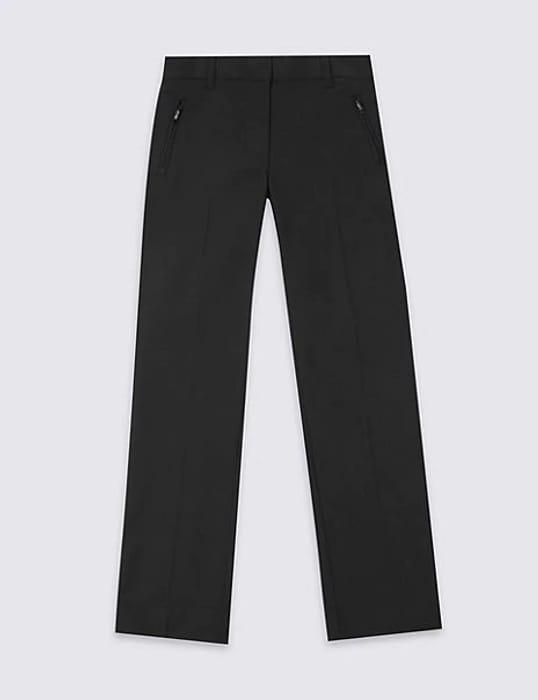 M&S Girls' Slim Leg plus Fit Trousers