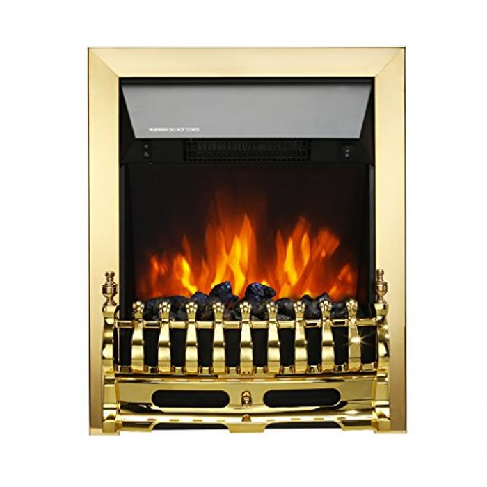 Freestanding Electric Fireplace - Save 50%!