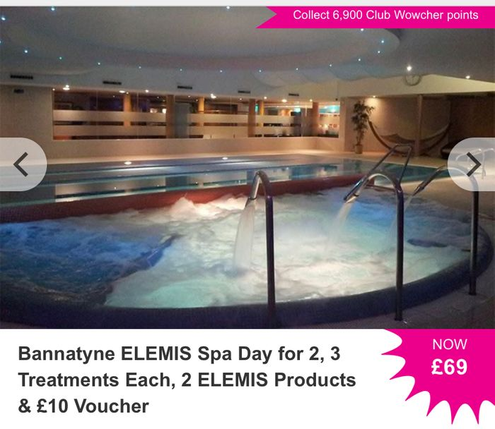 Deluxe Spa Day Inc 3 Treatments and £10 Voucher Just £34.50 Each!!!