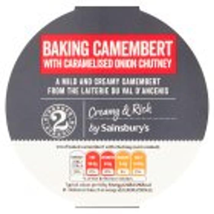 Sainsbury's Baking Camembert & Red Onion Relish 290g