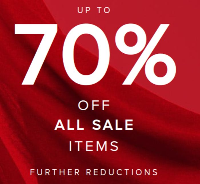 Up to 70% off All Sale Items at Monsoon
