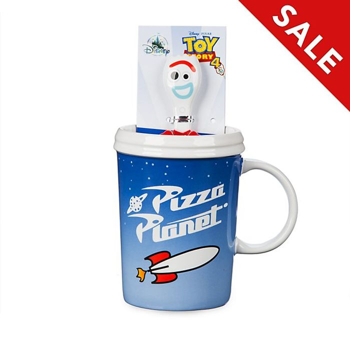 Disney Store Forky Mug and Spoon, Toy Story 4