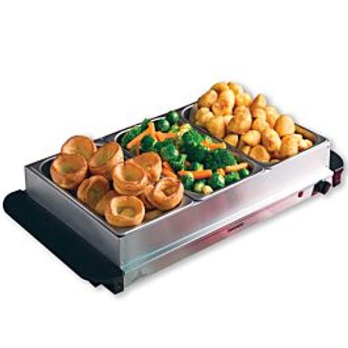 Daewoo Mains Powered Large Buffet Server Food Warmer