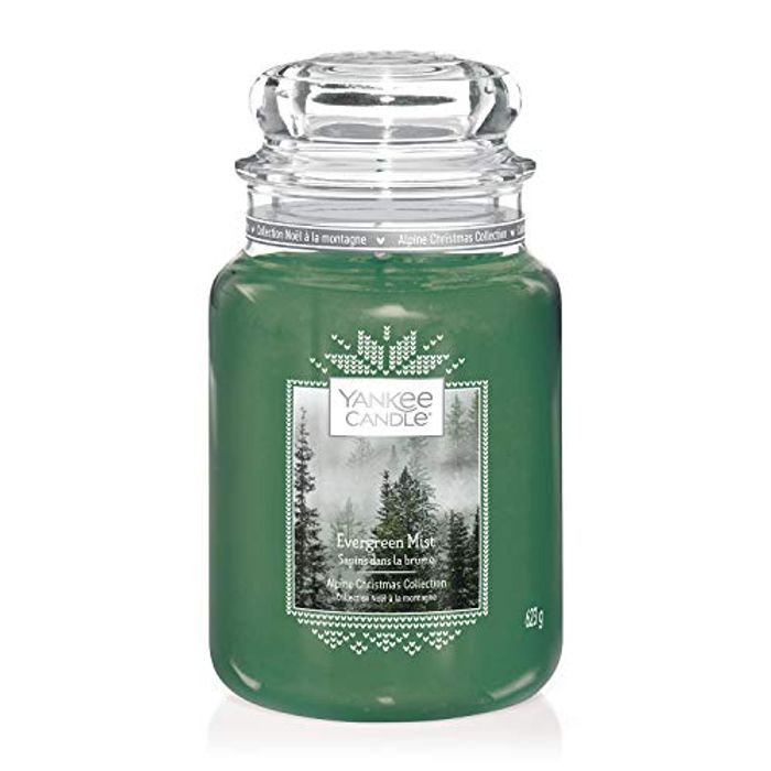 Large Yankee Candle Evergreen Mist