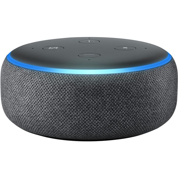 *SAVE £25* Amazon Echo Dot (3rd Gen) Smart Speaker with Alexa - Black
