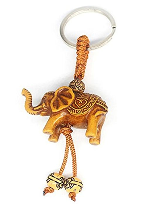 Plastic Elephant Pendant, Key Chain 80% off + Free Delivery