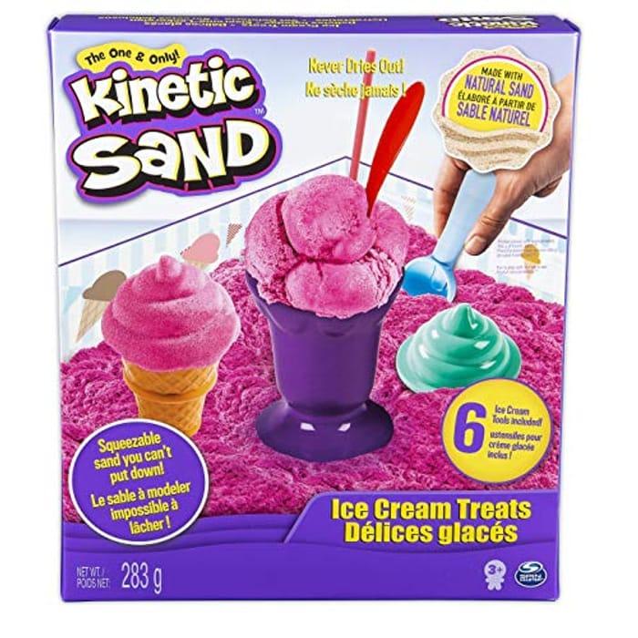Bargain! Kinetic Sand Ice Cream Treats at Amazon - HALF PRICE!