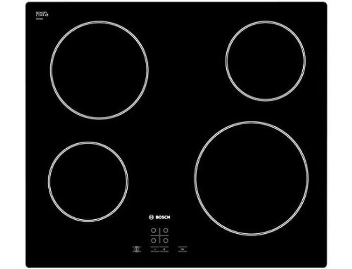 Bosch PKE611D17E Ceramic Hob - Black [Energy Class A]