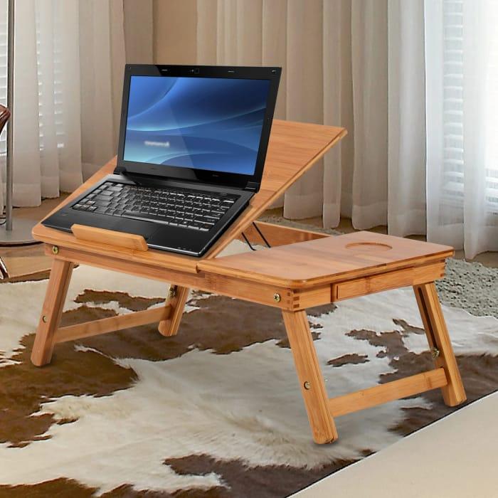 Portable Bamboo Laptop Desk