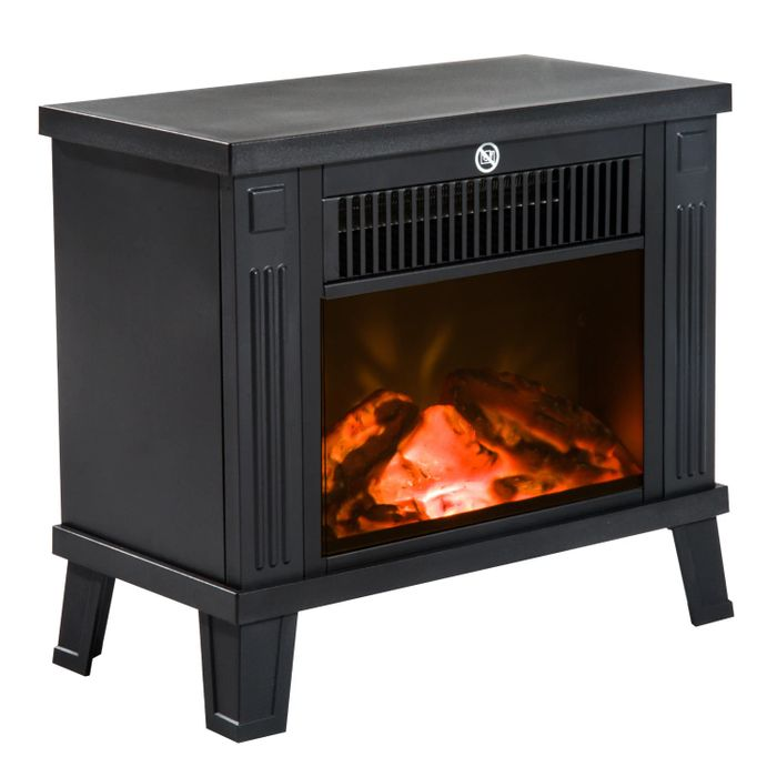 Best Price! HOMCOM Freestanding Electric Fireplace Heater at Aosom