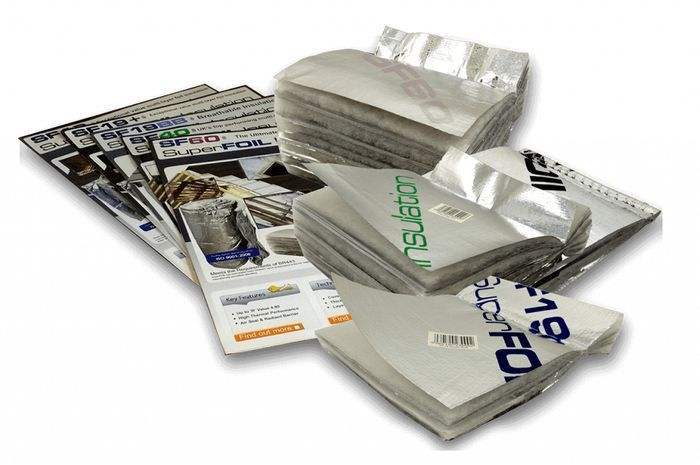 Free Foil Insulation Sample Pack.