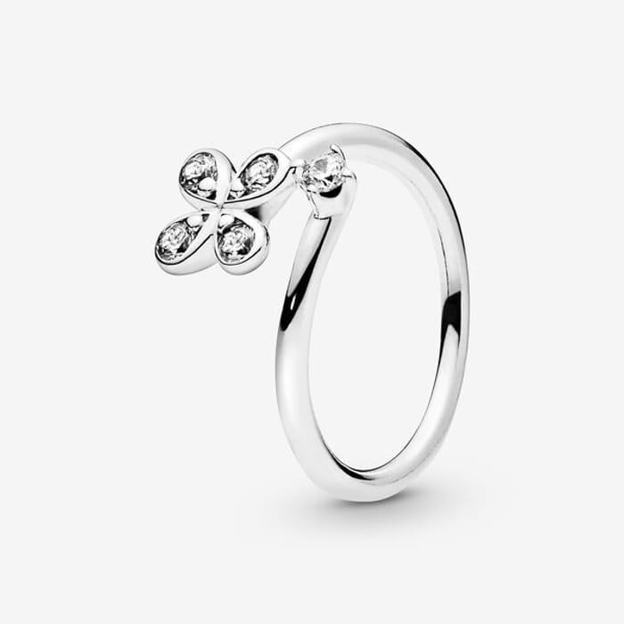 Pandora Four-Petal Flower Ring - Save £30!