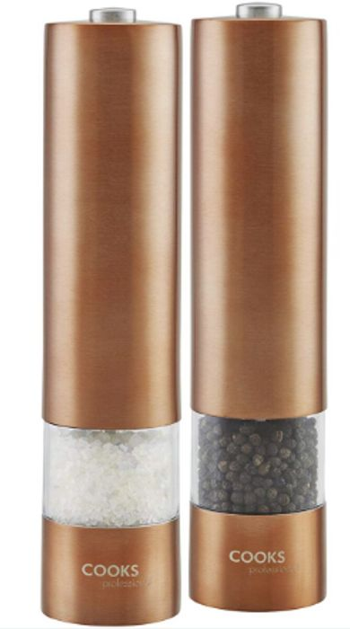 Cooks Professional Electric Salt and Pepper Mill Only £9