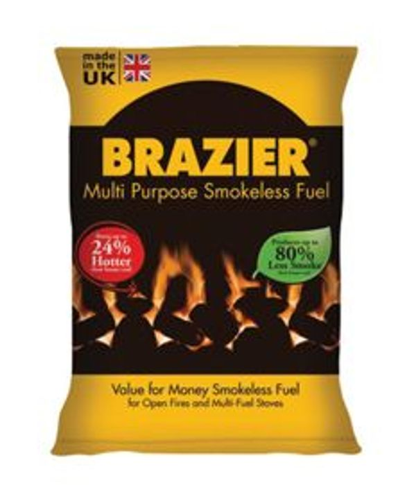 Brazier Smokeless Coal - 10kg Bag