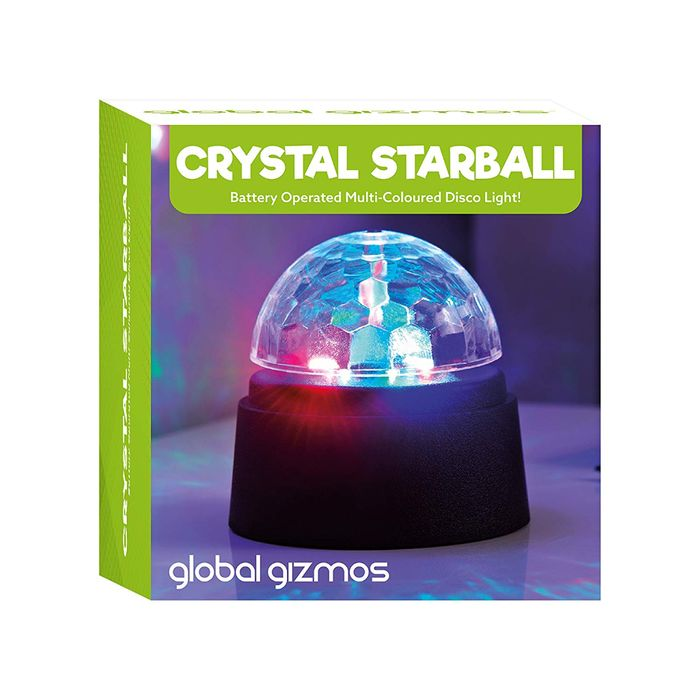 Best Ever Price! Global Gizmos Battery Operated Crystal Starball Disco Light