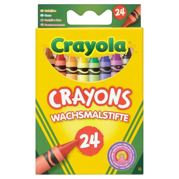 Cheap Crayola Crayons 24 Pack at Wilko Only £1.25!