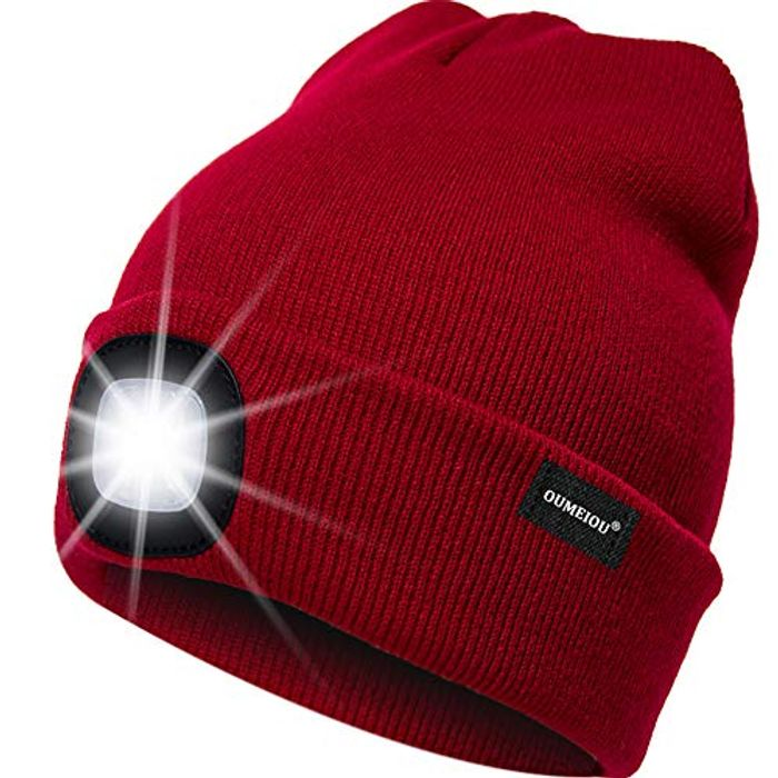 LED Lighted Beanie Cap *4.6 STARS* AMAZON BEST-SELLER